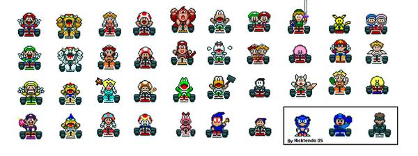 MarioKart Snes 2 by Frobie-Mangaka