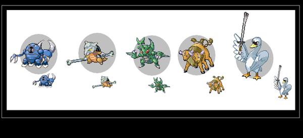 My new evolutions by Frobie-Mangaka on DeviantArt