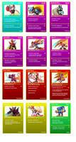 Zero battle cards