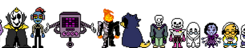 Mixtale Sprites by the-greatpapyrus
