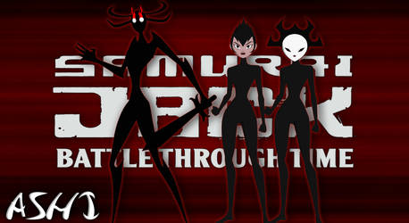 Samurai Jack - Pack 1: ASHI AND SISTERS FOR XPS