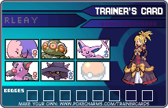 Elite four 3 Trainer card by Torikm
