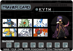 Kyth Trainer Card by Torikm