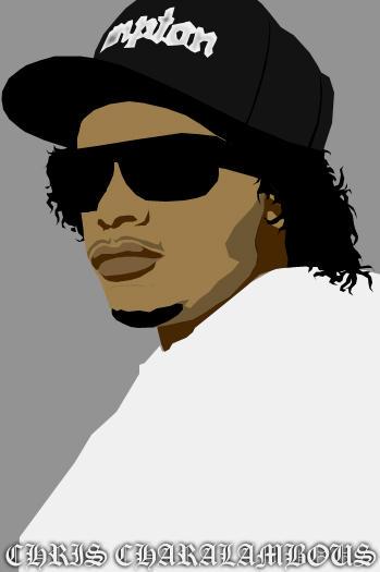 Eazy E by Graffiti-Artist