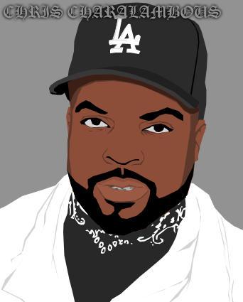 Ice Cube by Graffiti-Artist