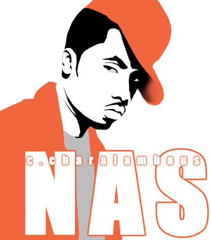 Nas Abstract by Graffiti-Artist
