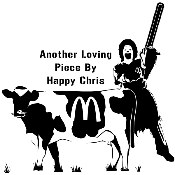 McDonalds Stencil 1 by Graffiti-Artist