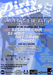 S.K.I.T.Z Beatz Flyer Back by Graffiti-Artist