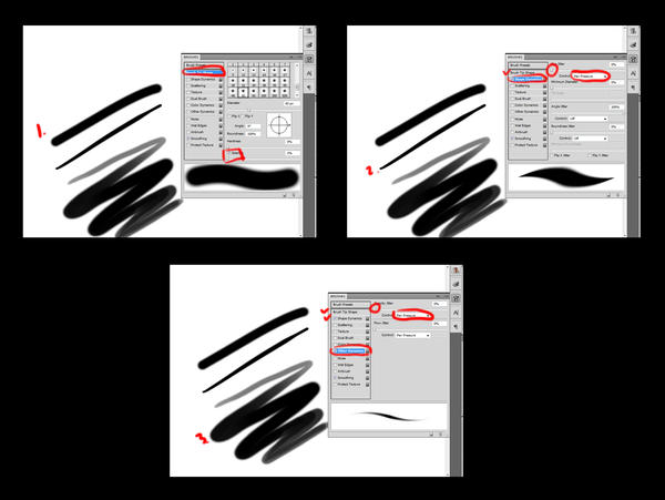how to make a brush in photoshop cs4