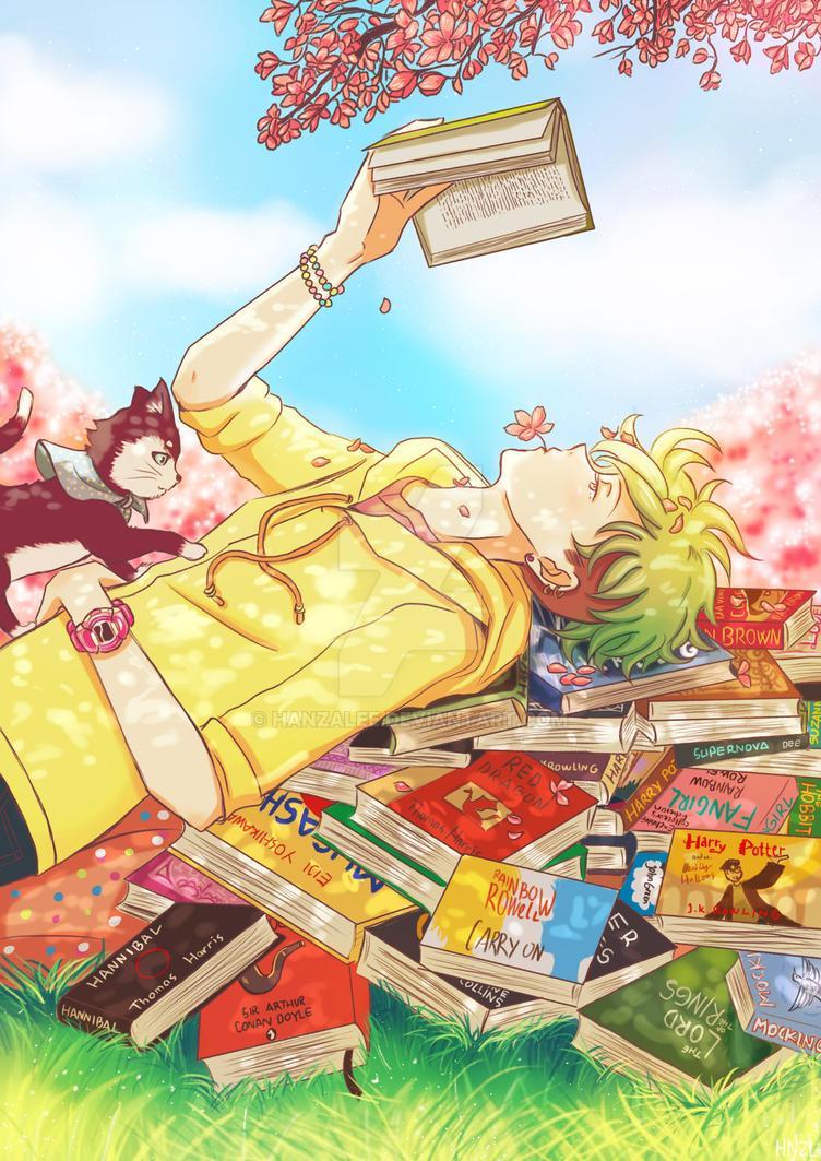 Bookworm Quirky by HanzaLee