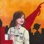 L is for Lois Lane