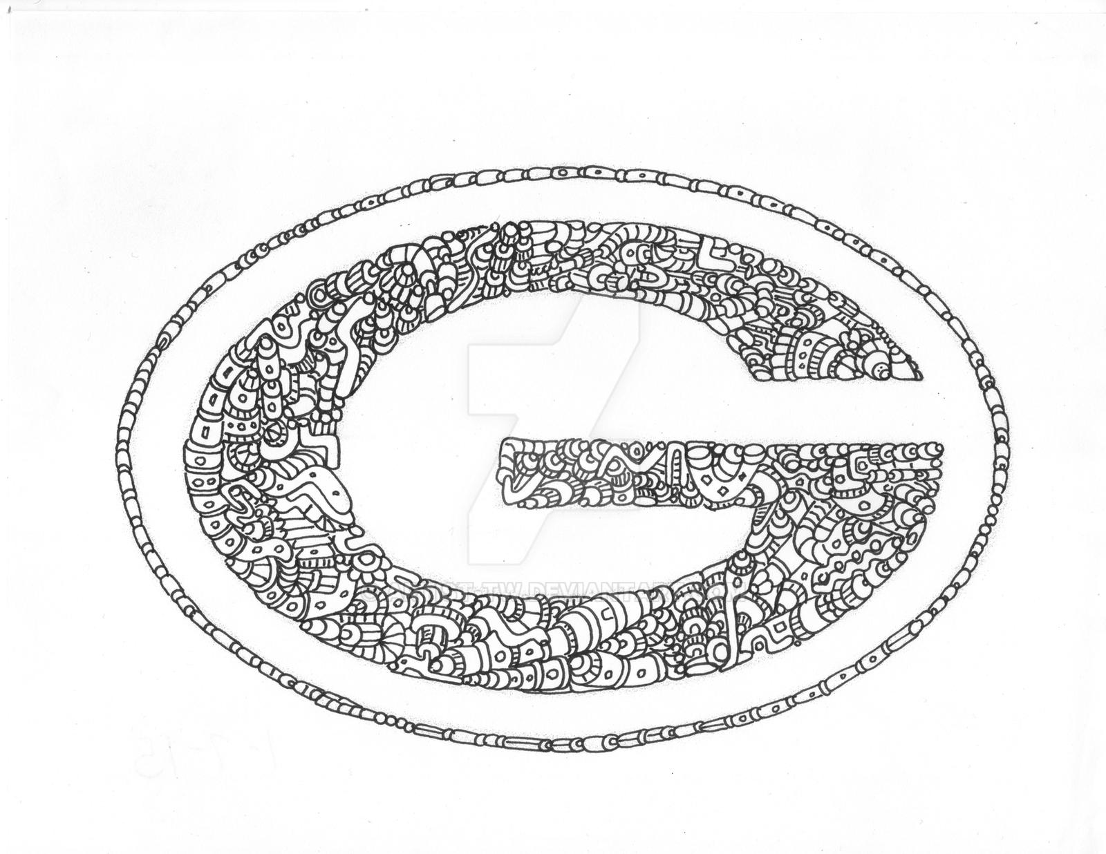 This is a picture of Universal Green Bay Packers Drawing