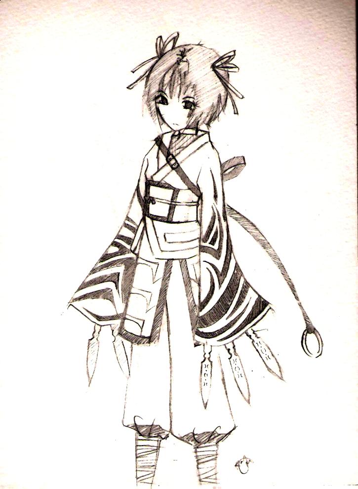 ninja by RaygorMortis