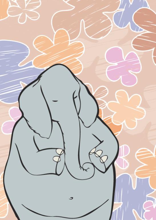Elephant by Bebecca