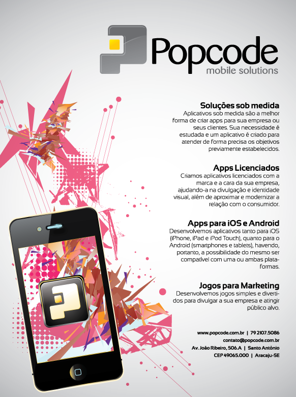Popcode for magazine by Bebecca
