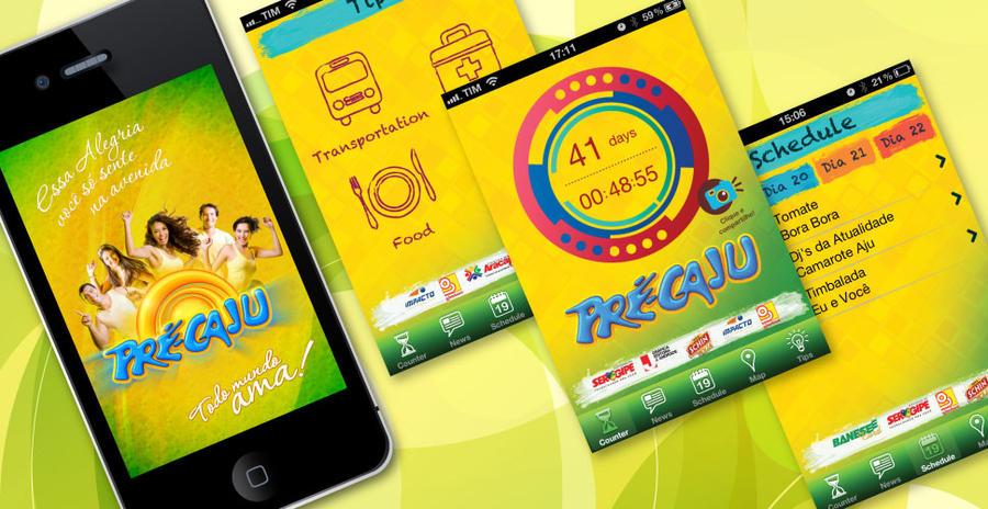 Pre-Caju App by Bebecca
