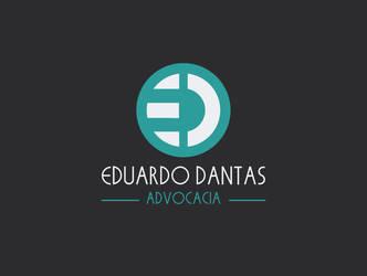 Logotipo Eduardo Dantas Advocacia by Bebecca