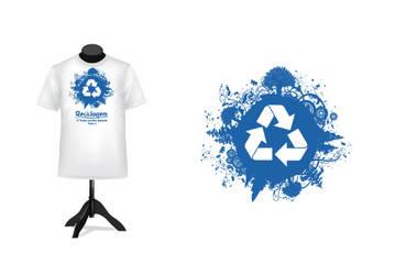 Logo Reciclagem by Bebecca