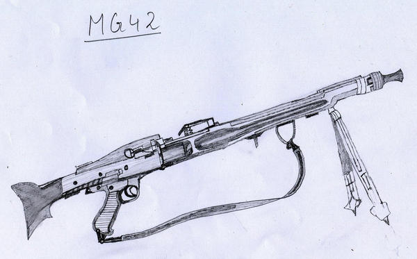 Shipbucket - Misc Drawings/Gunbucket/Mauser MG42.png