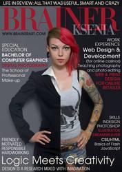 Ksenia Brainer CV Resume by Kseniabrainer