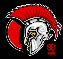 Mascot design:  Spartan