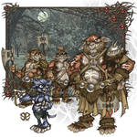 Nimpentoad and the Orcs final Illustration