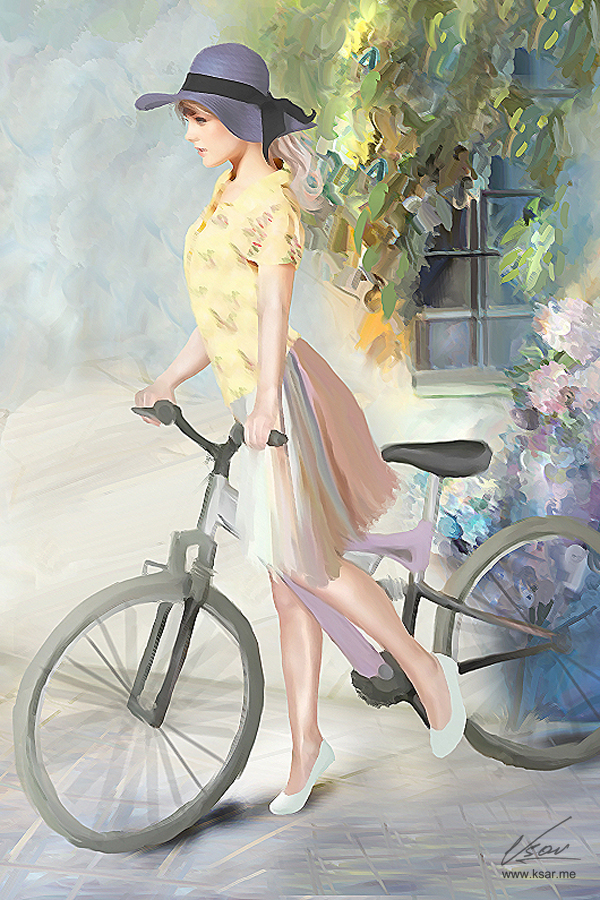 girl by Ksar