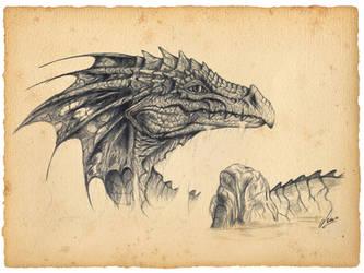 Sea Dragon by Ksar