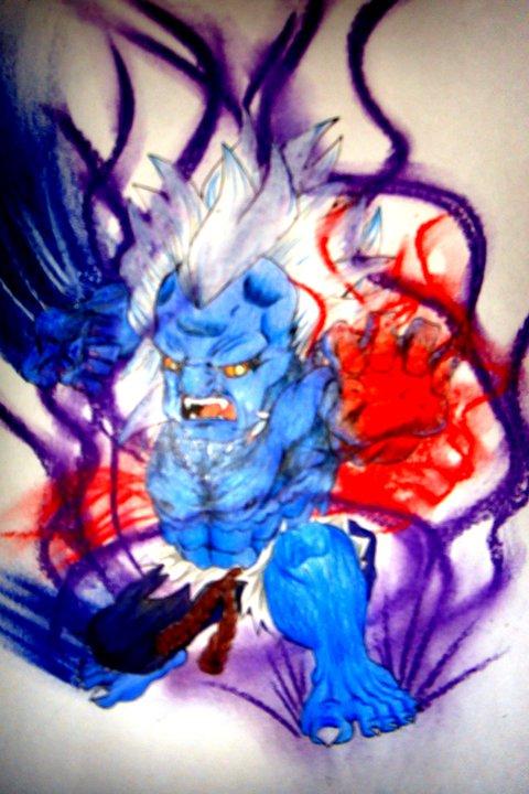 Oni akuma chibi by nazmulalam on deviantart - Akuma oni wallpaper ...