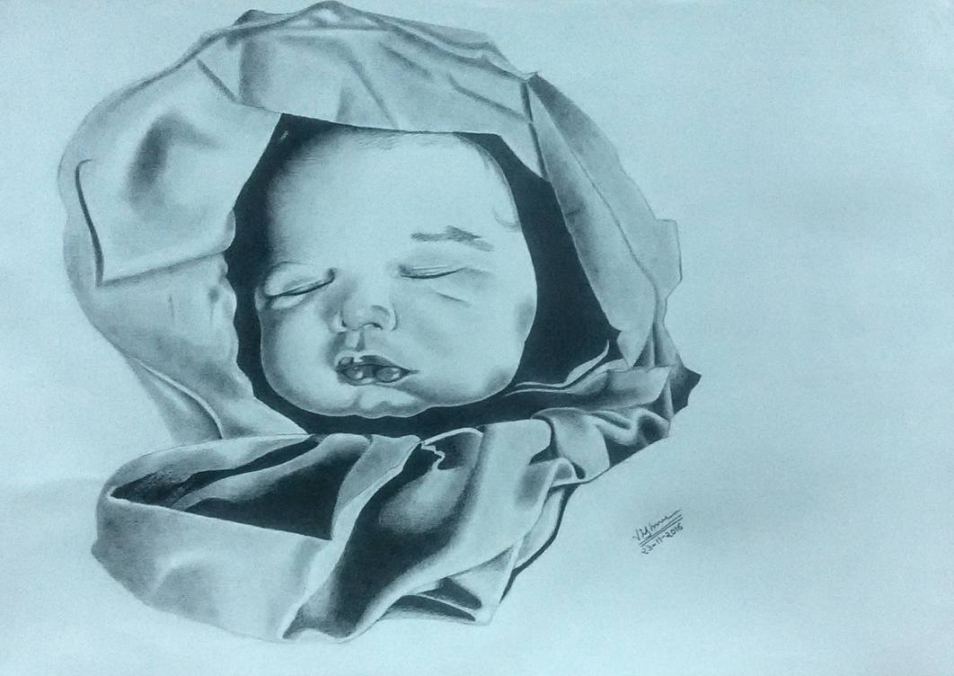 Drawing of my son by me.