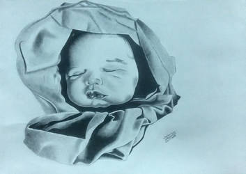 Drawing of my son by me. by vish26385