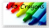 I Love Crayons by XxChocoboChickxX