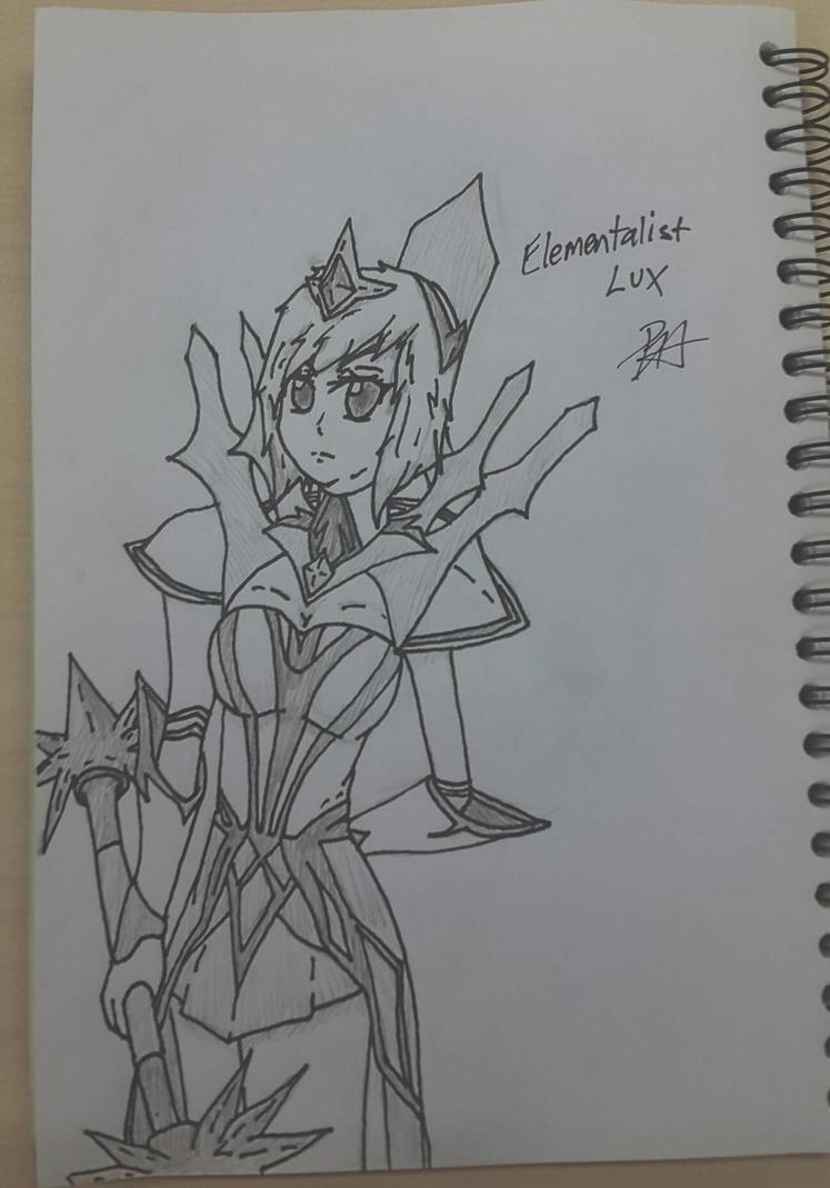 League of Legends Elementalist Lux by RisingAlpha78