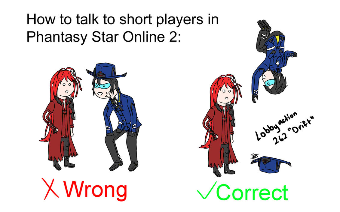 How to talk to short players in PSO2 by RisingAlpha78