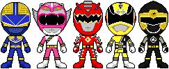 Fusion Rangers by gabitegross