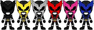 Jaden Sentai Nejiranger by gabitegross