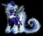*Back Story Added* Azure Sky Stardrop Mascot
