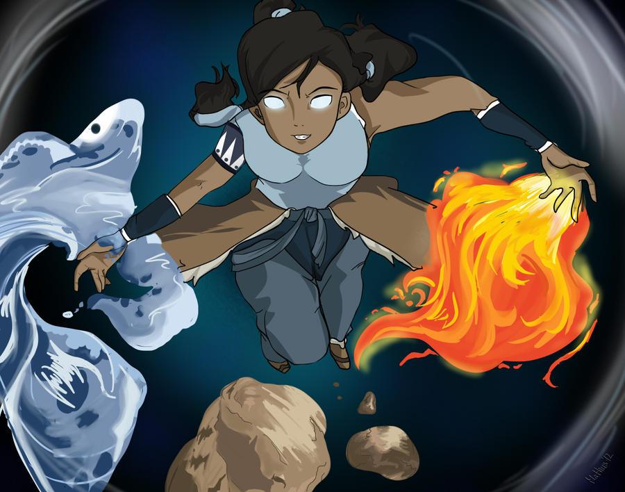 Legend of korra avatar state by spike110
