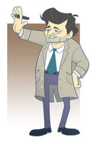 Columbo Character Design by VIPiercer