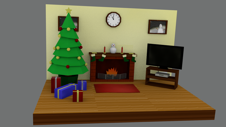 LPW Christmas contest WIP not papercraft by thepapercraftcouple