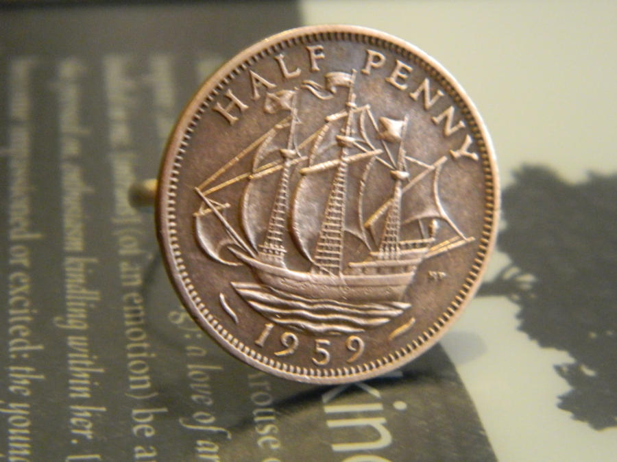 1959 Half Penny Ring by thepapercraftcouple