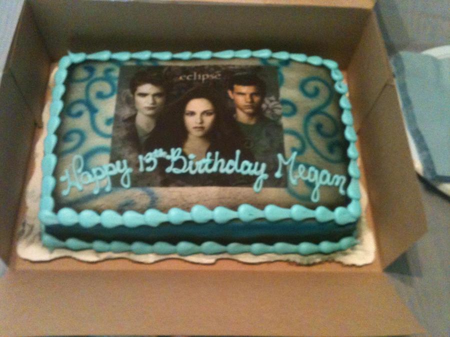 My 13th Birthday Cake By Twihungercity17 On Deviantart