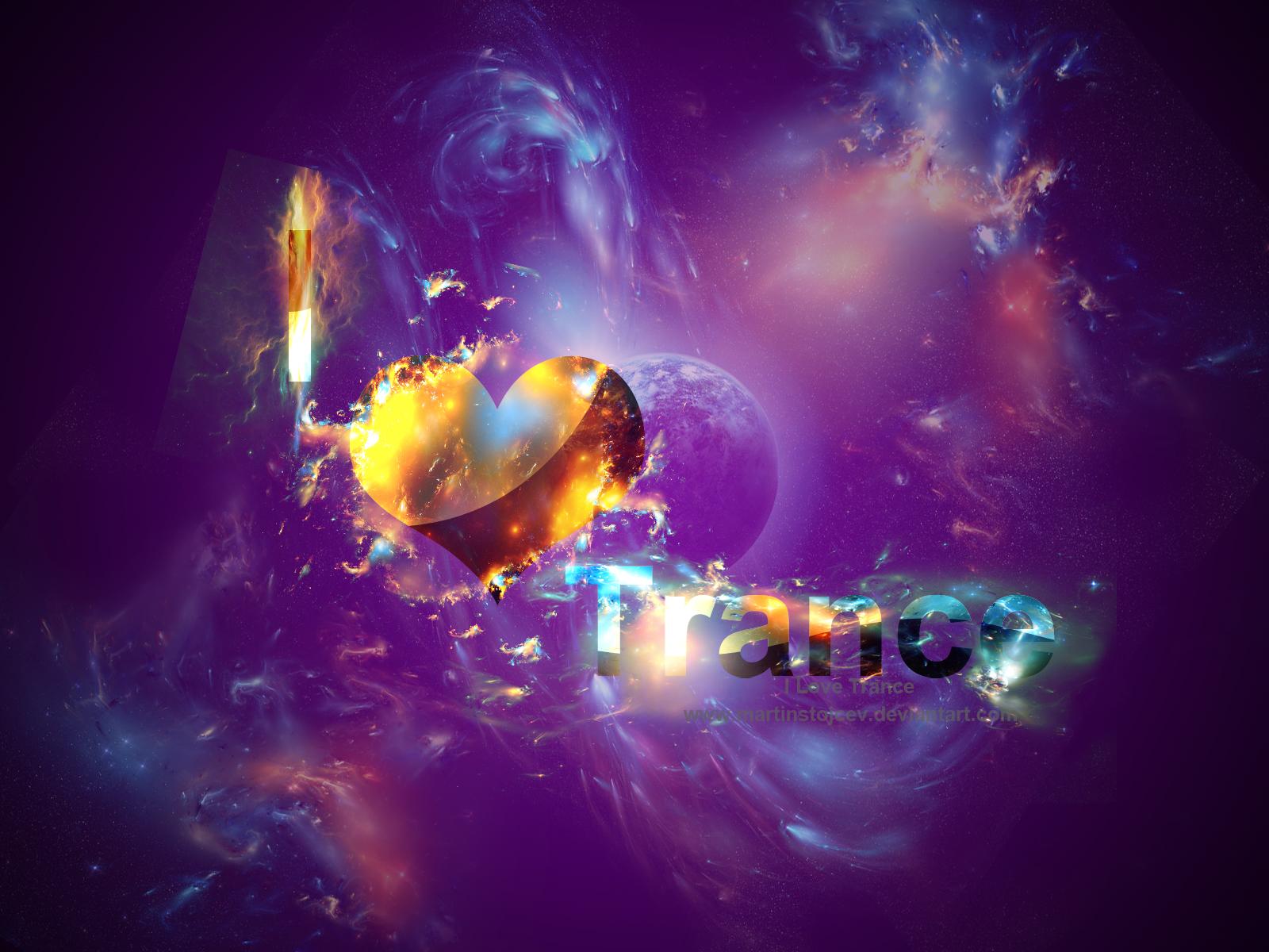 I Love Trance by Martinstojcev