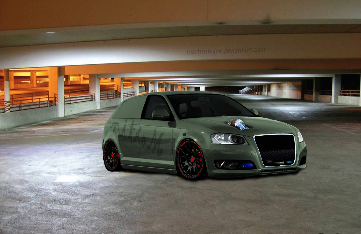 Audi a3 by Martinstojcev