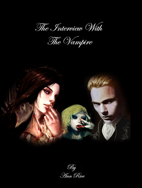 Vampire Book Cover Art : Book cover interview with the vampire by palumbo on