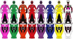 Ranger Keys: Ressha Sentai ToQger