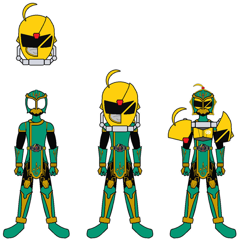 kamen rider ryugen akiba gold arms by axusho on deviantart