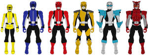 Action Heroes Wave 2: Tokumei Sentai Go-Busters