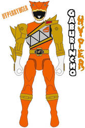 Action Hero- Hyperryuger(Dino Charge Hyper Ranger) by Axusho