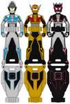 Ranger Keys: Kamen Rider Gaim (Apple Riders)